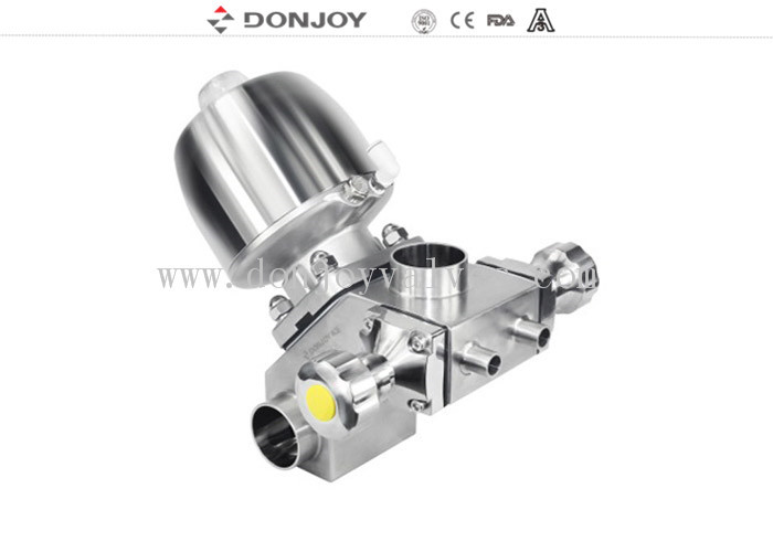 Sanitary multiport  Sanitary Diaphragm Valve  for pharmaceutical industry