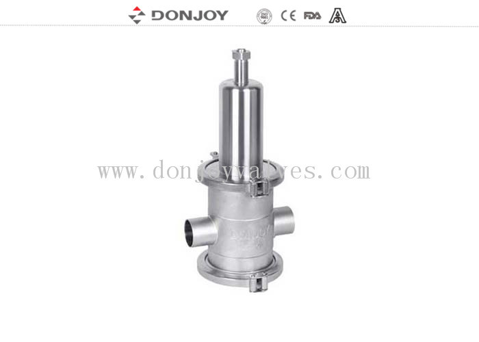 "Donjoy SS316L 3 ""High purity pressure reducing valve T type and L T type"