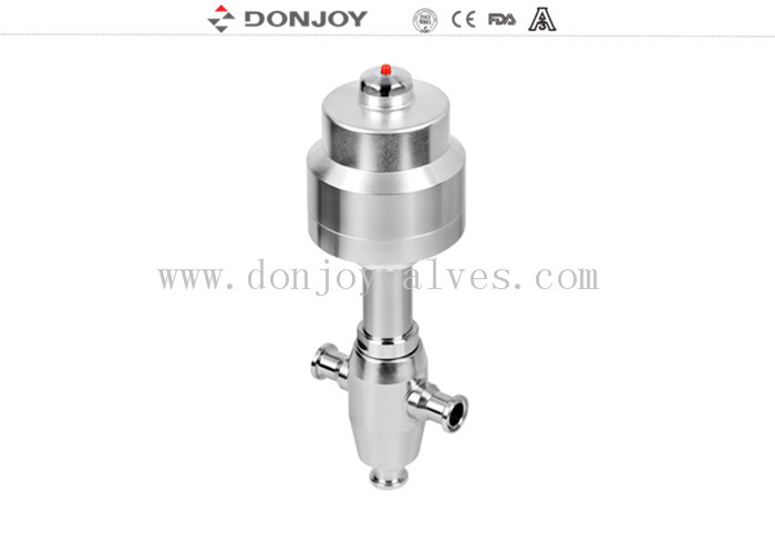 High Performance Pneumatic Angle Valve For Bleaching Food Washing